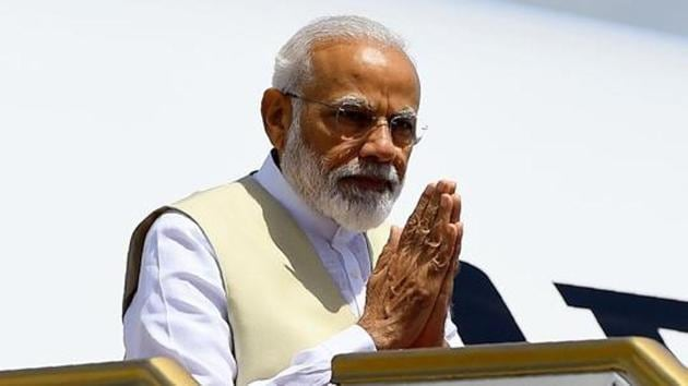 """Their depiction of Modi since 2002 as an anti-Muslim Right Wing Hindu nationalist, a product of the sinister Rashtriya Swayamsevak Sangh Hindutva ideology, has made many in the media, academic, literary and civil society circles abroad believe the propaganda about """"fascist"""" trends in India, damaging India's soft power.(AFP)"""