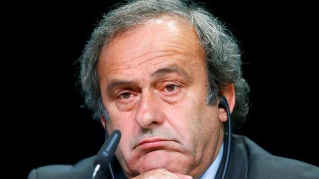 File image of former UEFA President Michel Platini(REUTERS)