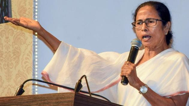 West Bengal Chief Minister Mamata Banerjee has excused herself from the scheduled meeting of Prime Minister Narendra Modi with political party chiefs.(PTI file photo)