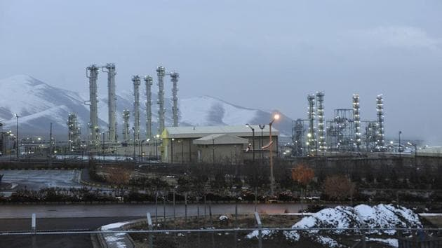 A heavy water nuclear facility near Arak, 250km southwest of Tehran. Iran has decided to exceed the uranium stockpile limit.(AP File Photo)