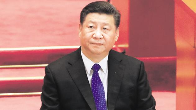 Mr Xi is indicating that Beijing will retain its influence on the Korean peninsula and must be involved in future negotiations(REUTERS)