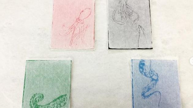 Washi is mesh-like paper mainly made with fibres.(kmy_sakuzen/Instagram)