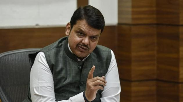 Chief minister Devendra Fadnavis had been tagged in the video(Kunal Patil/HT Photo)