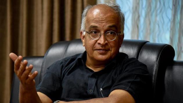Jayant Udgaonkar, IISER director(Sanket Wankhade/HT PHOTO)