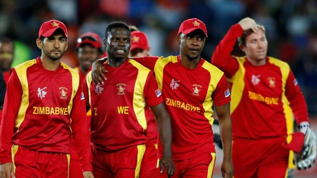 File photo of Zimbabwe Cricket team.(Reuters)