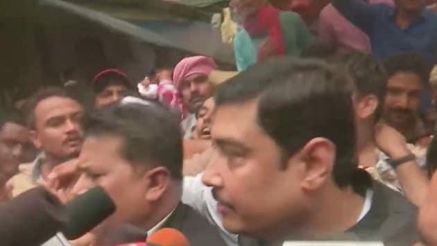 BSP MP Atul Rai finally surrendered before a Varanasi court on Saturday . (Photo ANI)
