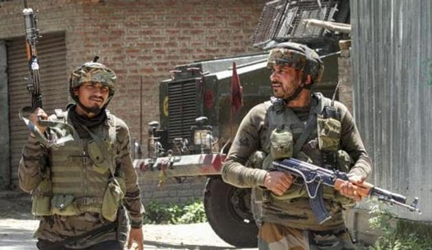 The Army has not clarified whether it was an infiltration or exfiltration activity.(PTI file photo)