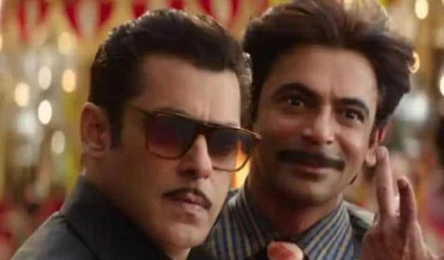 Salma Khan and Sunil Grover played best friends in Bharat.