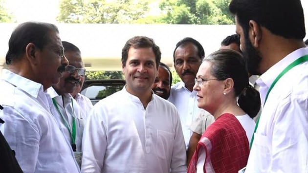For a party plagued by factionalism from the Centre to the states, it's not easy to zero in on a replacement who has the ability and credibility to act as the glue that holds it together. (Photo @RahulGandhi)