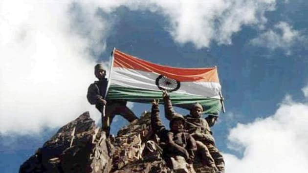 Indian armed forces displayed exceptional valour to successfully dislodged the enemy from the strategic hill in the Drass-Kargil area.(File photo)