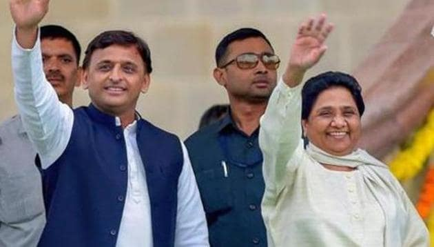 BSP chief Mayawati tweeted on Monday that her party would contest all future elections on its own, ending the alliance with Akhilesh Yadav's Samajwadi Party for good.(PTI file photo)