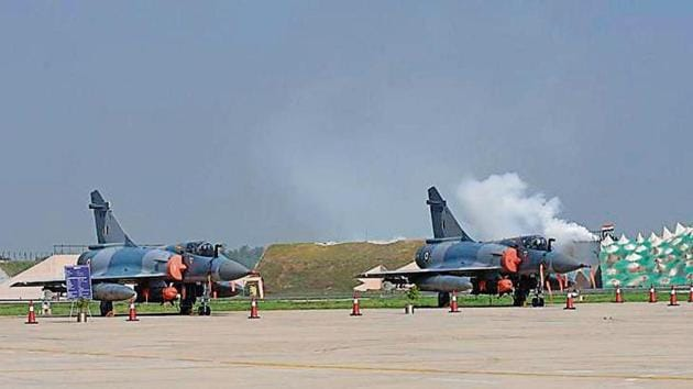 On the Balakot airstrike, which was carried out in retaliation against the February 14 terror attack on a security convoy in Jammu and Kashmir's Pulwama.(HT Photo)