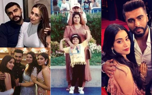 On Arjun Kapoor's birthday, here are his best photos with girlfriend Malaika Arora and his family.(Instagram)
