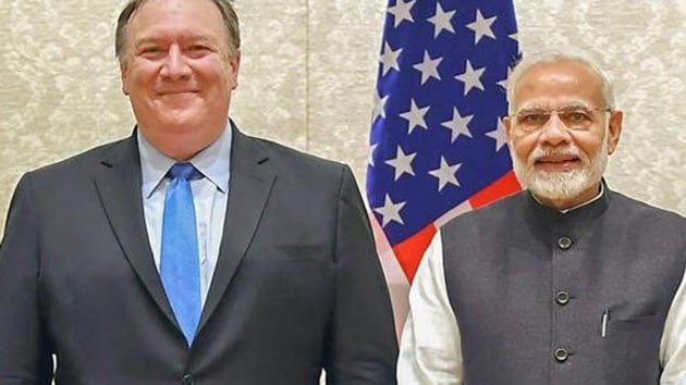 The US Secretary of State's visit starting Tuesday night is the first high-level visit from any country following the Lok Sabha polls. The two leaders will hold talks on Wednesday -- their first meeting after Jaishankar assumed office last month. (PIB Photo via PTI)