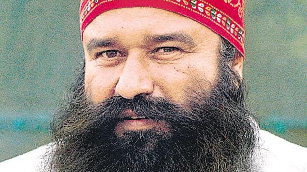 Dera Sacha Sauda head Ram Rahim's chances of getting a temporary release from the prison rest entirely with the Rohtak divisional commissioner who will finally decide his parole request.(HT File)