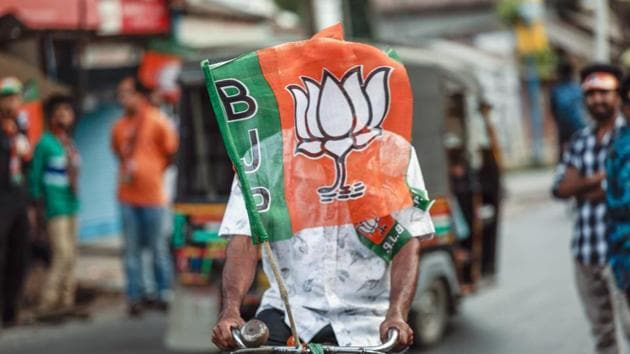 The BJP won 62 out of the 80 seats in Uttar Pradesh in the 2019 elections(Bloomberg File Photo)