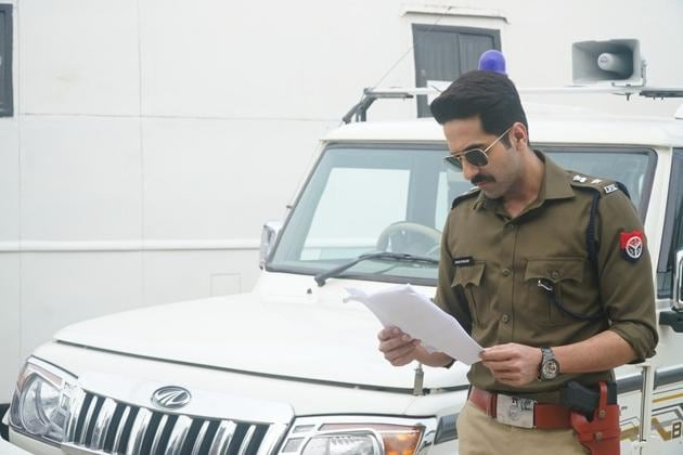 Ayushmann Khurrana plays a cop in Article 15.