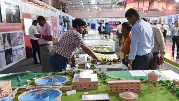 The municipal commissioner asserted that most of the work under Smart City and AMRUT would be visible within six months.(Subhankar Chakraborty/HT File Photo)