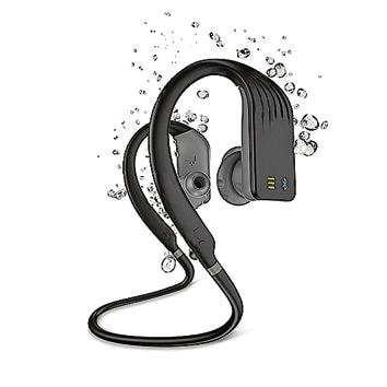 With a water-resistant Bluetooth headset, you can safely tuck your phone in your bag, and listen to music and answer calls without the risk of water damage.
