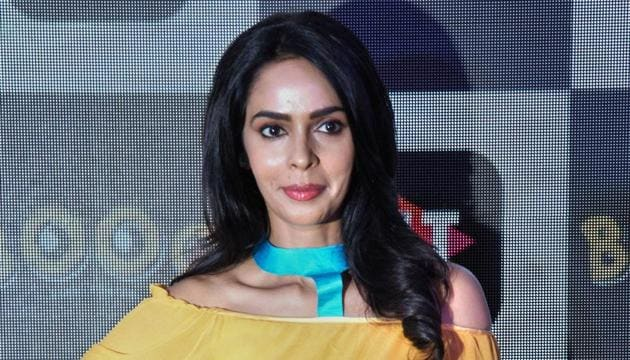 Mallika Sherawat during the launch of a web series 'Booo Sabki Phategi', in New Delhi, Thursday, June 27, 2019.(PTI)