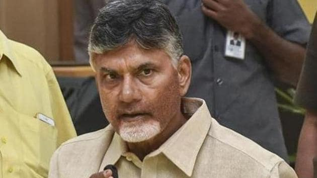 The notice has been served in the name of Lingameneni Ramesh, from whom the house was taken on lease by then chief minister Naidu in 2016.(PTI FILE)