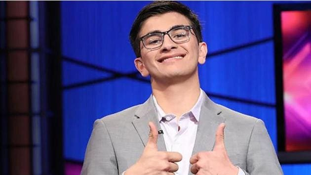 An Indian-American teen has won a whopping USD 100,000 prize in the most-watched individual quiz show in the US(Jeopardy/Twitter)