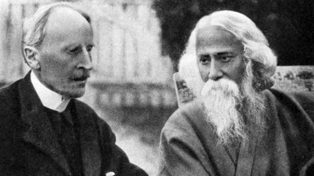 """Apart from exchanging letters for many years, Rolland and Tagore met several times, in Europe. They got along very well; Rolland telling one mutual friend, the musician and mystic, Dilip Kumar Roy, that """"no living artist has made on me such a pure and almost spiritual impression""""(Alamy Stock Photo)"""
