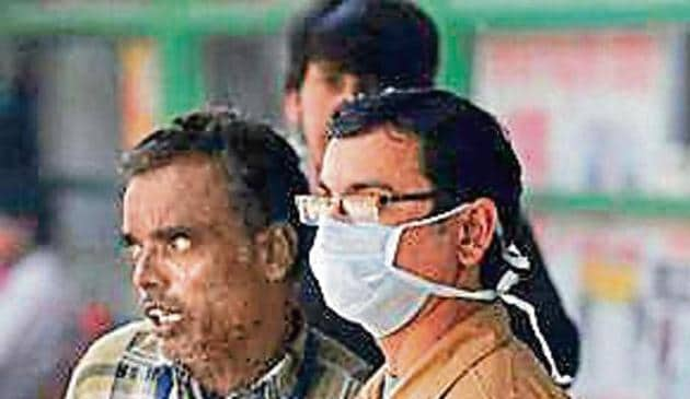 The Haryana State Pollution Control Board (HSPCB) is set to file a draft action plan to control air pollution in the city. (HT photo)