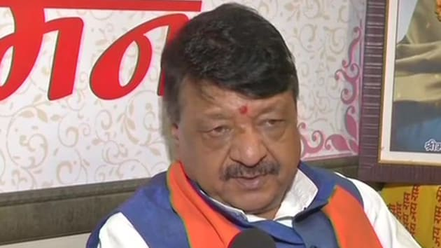 Seen here is BJP leader Kailash Vijayvargiya. (Photo:ANI)