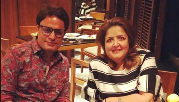 Sunaina Roshan has claimed to be in a relationship with Ruhail Amin.(Twitter)