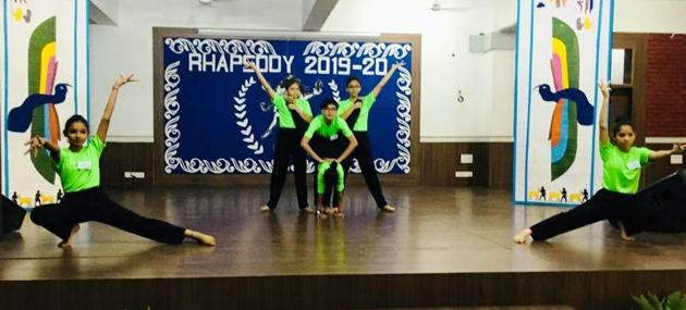 Students perform at Rhapsody 2019(HT)