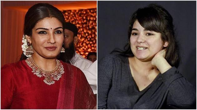 Raveena Tandon had called Zaira Wasim's reason to quit acting 'regressive'.