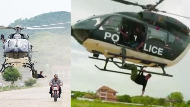 Akshay Kumar performed a daring stunt on the sets of Sooryavanshi.