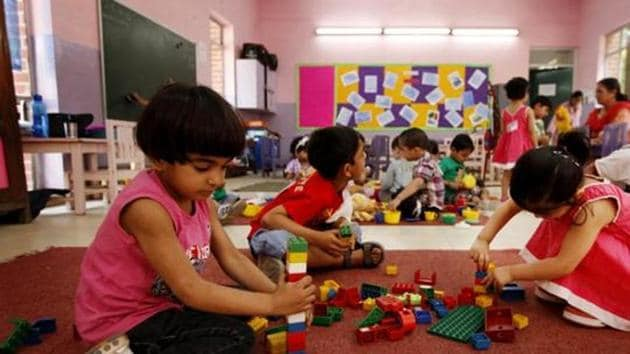 Representative Photo of play school(HT File)