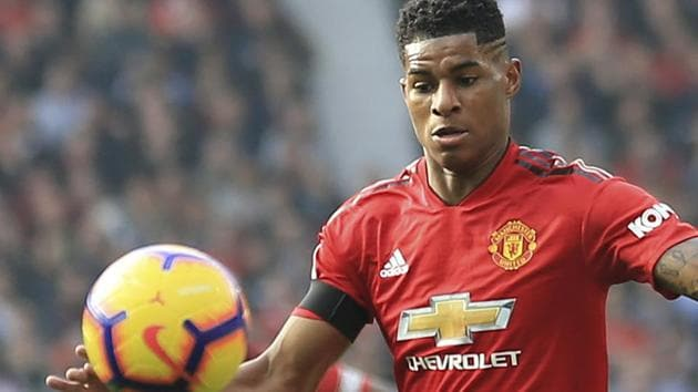 Marcus Rashford has committed his long-term future to Manchester United.(AP)