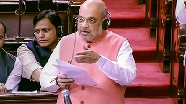 Union Home Minister Amit Shah(PTI photo)