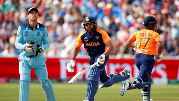 Cricket World Cup 2019: Rohit Sharma, Rishabh Pant(Action Images via Reuters)