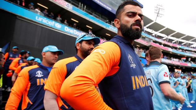 Indian cricket team ahead of their ICC World Cup 2019 encounter against(Action Images via Reuters)