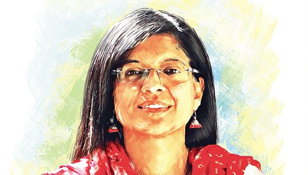 Mukta Puntambekar, project director, Muktangan de-addiction centre. (Illustration: Shrikrishna Patkar)(HT/PHOTO)