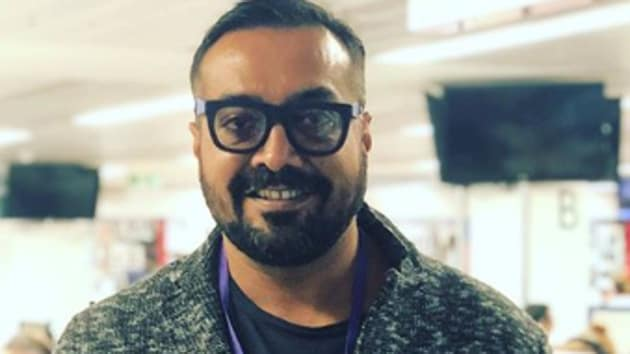 Anurag Kashyap at the studio of BBC in London.