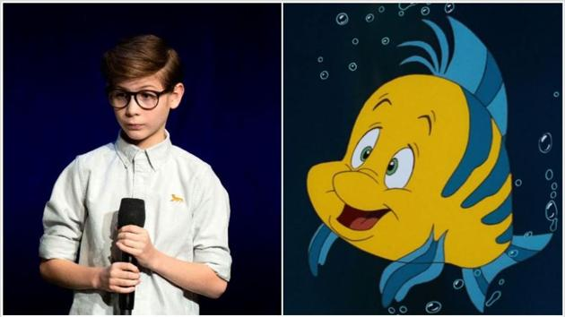 Jacob Tremblay or Room will play Flounder in The Little Mermaid.