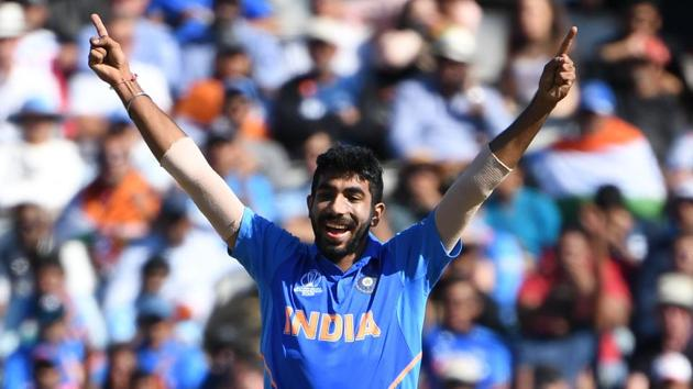 India's Jasprit Bumrah needs a five-wicket haul against Bangladesh to become the joint-fastest Indian bowler to take 100 ODI wickets along with Mohammed Shami(AFP)
