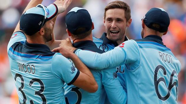England take on New Zealand in the ICC World Cup 2019.(Action Images via Reuters)
