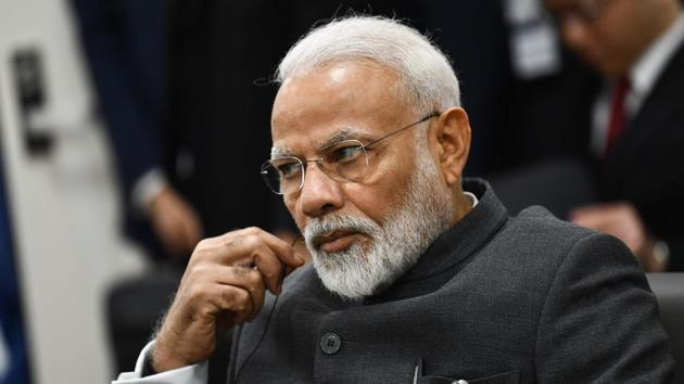 PM Modi's assessment of the Akash's conduct is at sharp variance with that of his father Kailash Vijayvargiya.(AFP File Photo)