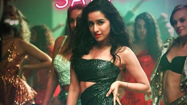 Shraddha Kapoor in Saaho song Psycho Saiyaan.