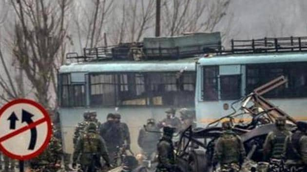 Aadil Ahmad Dar, a JeM terrorist from Kashmir, carried out the suicide bombing on February 14 when he drove the car laden with high intensity explosives into the convoy.(PTI)