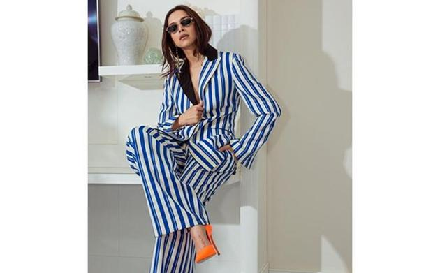 From Katrina Kaif and Deepika Padukone donning co-ord pantsuits, and Alia Bhatt in an ankle-length dress, here's how you can ace the trend!(Deepika Padukone/Instagram)