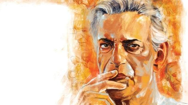 Among the dozen or so great masters of world cinema, Satyajit Rat is known for his humanistic approach to cinema. His films were made in Bengali and yet are of universal interest.(Illustration: Mohit Suneja)