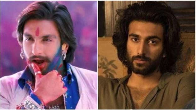 Meezaan Jaffery's looks in Malaal remind many of Ranveer Singh.