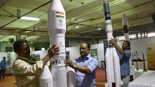 The Indian Space Research Organisation has signed a contract with a Russian company for selection support, medical examination and space training of Indian astronauts for the country's proposed maiden manned space mission 'Gaganyaan'. (Photo by Ravindra Joshi/HT PHOTO)